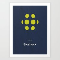2K Games' Bioshock Art Print