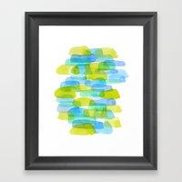 Watercolor 001 Framed Art Print
