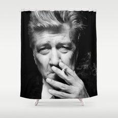 David Lynch Shower Curtain