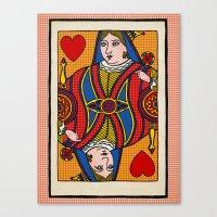 Queen Of Pop Canvas Print