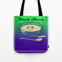 Black Sheep Cream Of Bleat Tote Bag
