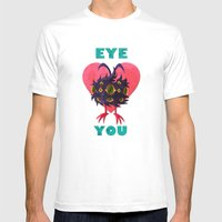 EYE ❤ YOU Mens Fitted Tee White SMALL