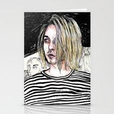 I'm not like them, but i can pretend. -  Kurt c Stationery Cards