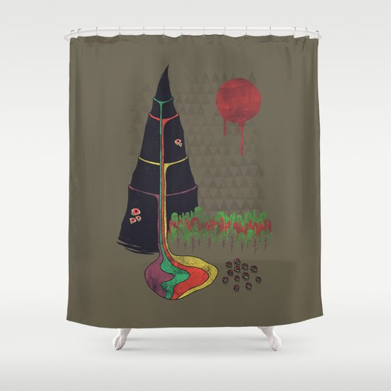 Holy Mountain Shower Curtain