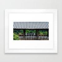 Byungsan 4 Framed Art Print