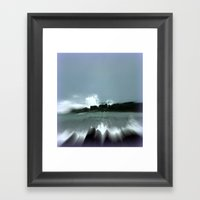 Breakwater Framed Art Print