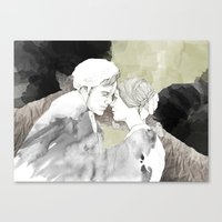 Jane Eyre Editorial #1 Canvas Print