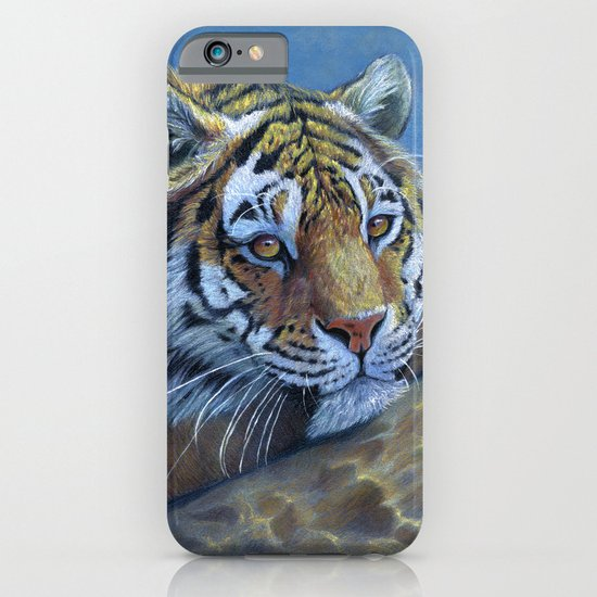 Tiger on the rock CC117 iPhone & iPod Case