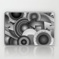 Monochrome Mayhem  Laptop & iPad Skin