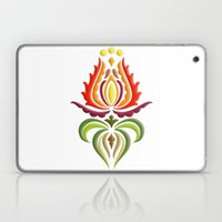 Fancy Mantle On White Laptop & iPad Skin