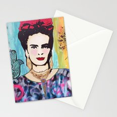 Psychedelic Frida Stationery Cards