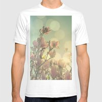 SPRING HEAVEN Mens Fitted Tee White SMALL