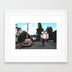 Berkeley Framed Art Print