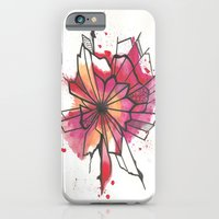 Pink And Yellow Flower E… iPhone 6 Slim Case