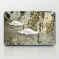 SWANS TREE-FLECTED iPad Case