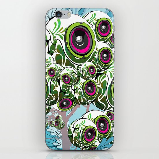 Apples for Ears iPhone & iPod Skin
