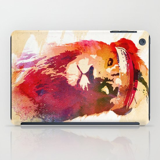Gym Lion iPad Case