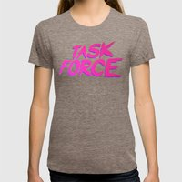 Task Force Womens Fitted Tee Tri-Coffee SMALL