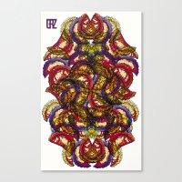 Empanadas Pattern #2 Canvas Print