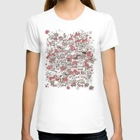 La Fiesta Womens Fitted Tee White SMALL