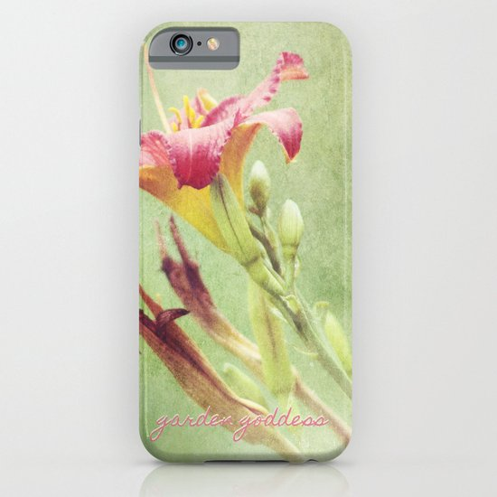 Garden Goddess iPhone & iPod Case