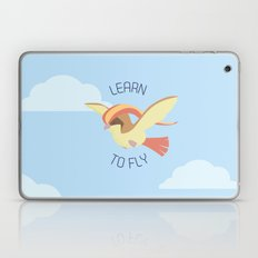 Pidgeot  learn to fly Laptop & iPad Skin