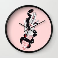 Serpent's Gate Wall Clock