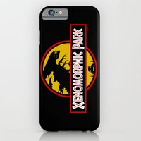 iPhone & iPod Case featuring Xenomorphic Park  by JoPruDuction Art