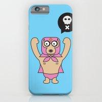 iPhone & iPod Case featuring ****Lucha Libre****El Diablo by Saar Gil