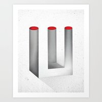 Optical Illusion No.2 Art Print