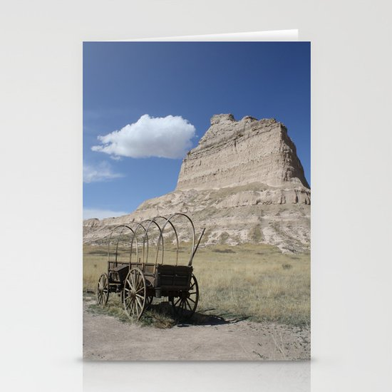 Trail's End Stationery Card