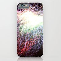 iPhone & iPod Case featuring Electric night by Anna Wand