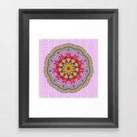 Mix&Match;  Pretty Pink … Framed Art Print