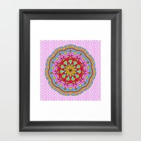 Mix&Match;  Pretty Pink … Framed Art Print