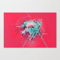 Neon Solstice Canvas Print