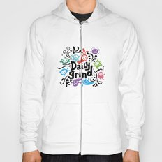 Daily Grind - white Hoody