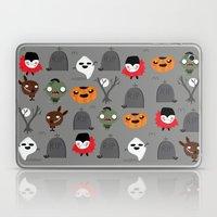 Not That Spooky Hallowee… Laptop & iPad Skin