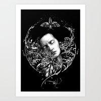 Allegory. Night. Art Print