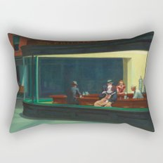 Pennywise in Hopper's Nighthawks Rectangular Pillow