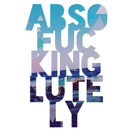 Abso....lutely! II Art Print