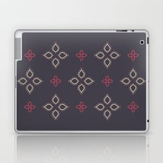 Abstract floral shapes Laptop & iPad Skin