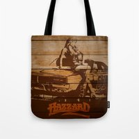 Hazzard Wood Tote Bag