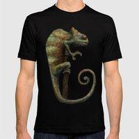 Its a Chameleon Mens Fitted Tee Black SMALL