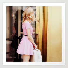 pretty in pink three Art Print
