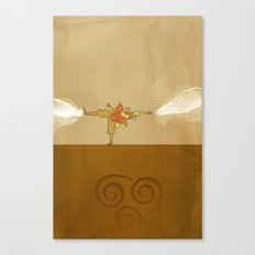 Avatar Aang Canvas Print