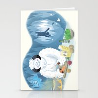 Frozen Dinner Stationery Cards