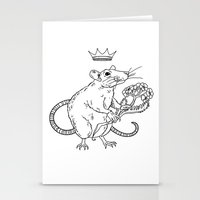 Rat King Stationery Cards