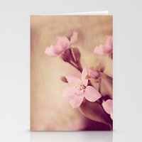 Pink Sentiments Stationery Cards