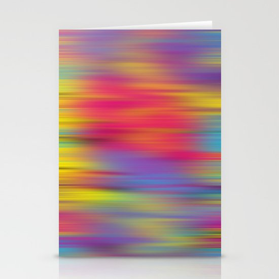 All The Colors  Stationery Card