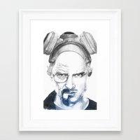 Breaking Buds Framed Art Print